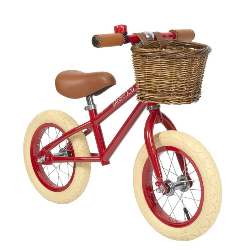 Bicicleta echilibru 12'' BANWOOD - Red