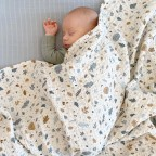 Swaddle din muselina Cam Cam - Forest