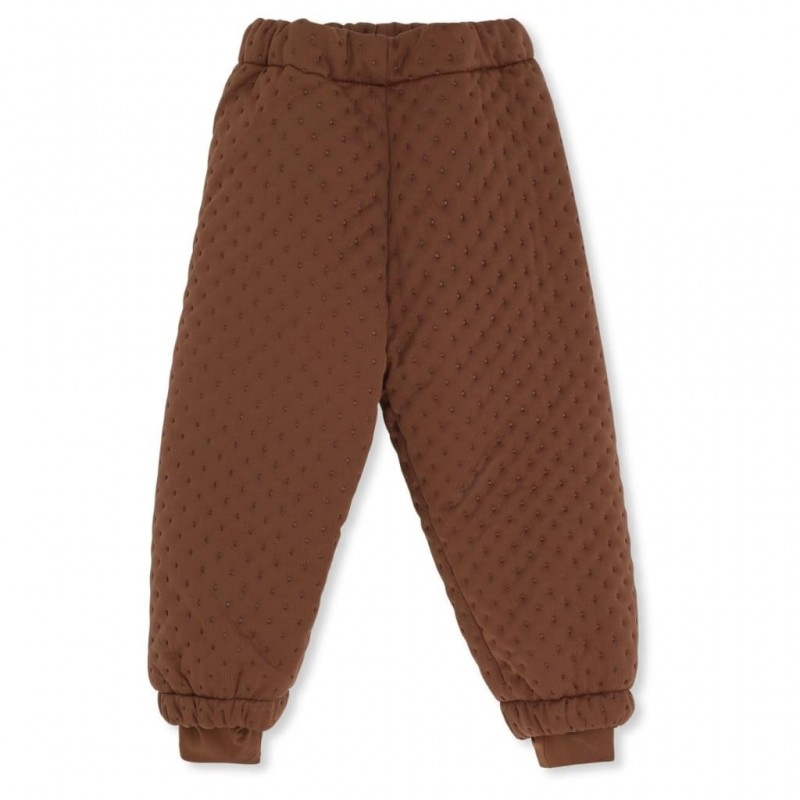 Pantaloni thermo Konges Slojd - Biscay Brown