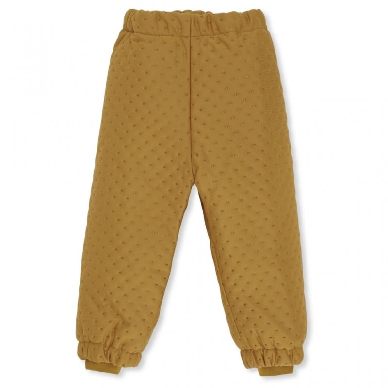 Pantaloni thermo Konges Slojd - Dark Honey