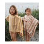 Poncho Roomie Liewood - Sea Blue/Sandy