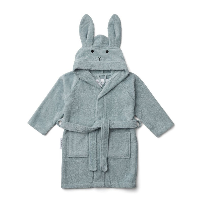 Halat de baie Lily Liewood - Rabbit Sea Blue