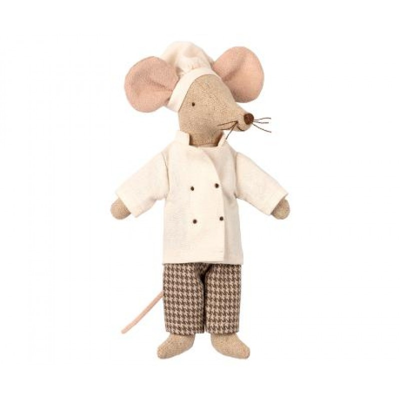 Jucarie textila Chef Mouse Maileg