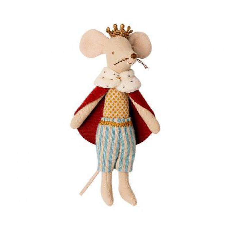 Jucarie textila King Mouse Maileg
