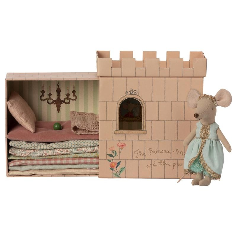 Jucarie textila Princess and The Pea Big Sister Mouse Maileg
