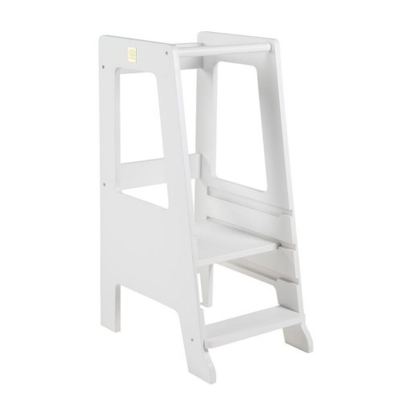 Learning Tower ajustabil Meow Baby - White Premium
