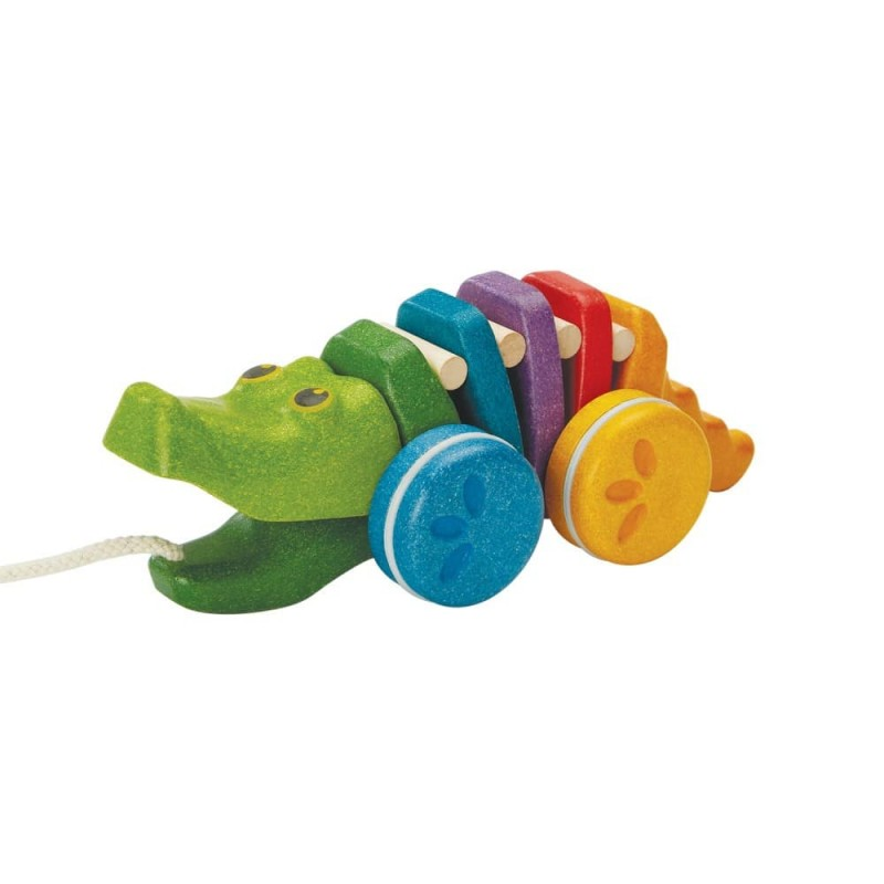 Crocodil curcubeu PLAN TOYS