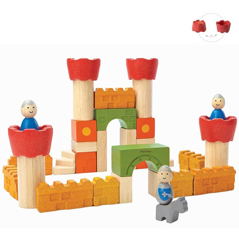Castle blocks PLAN TOYS