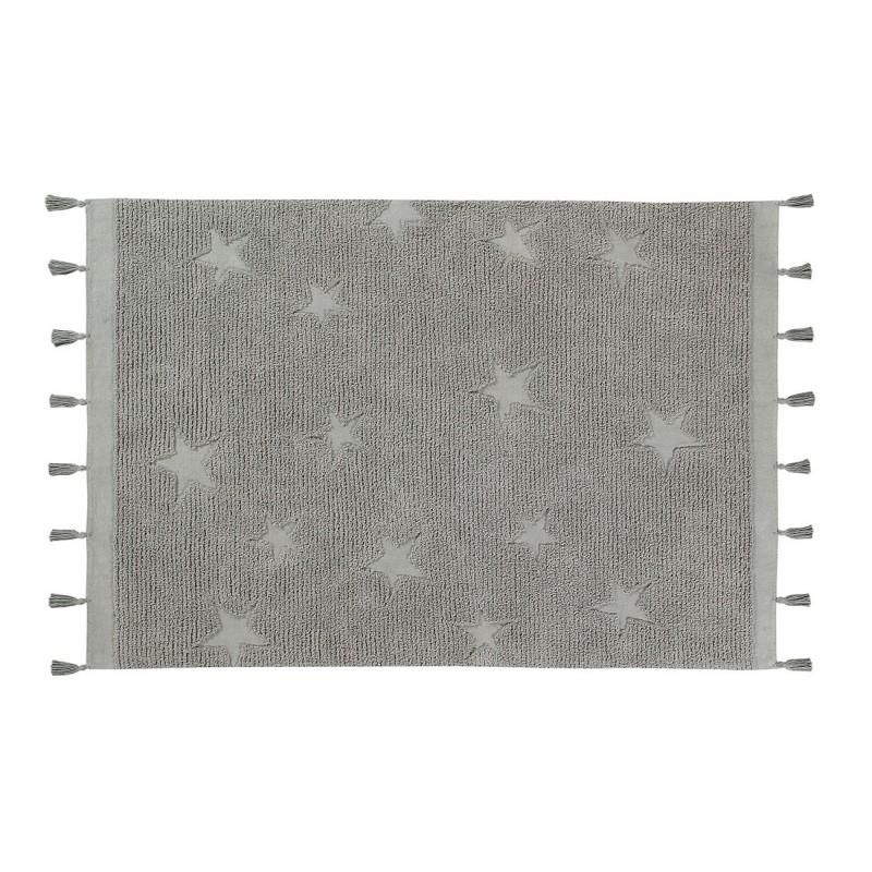 Covor Hippy Stars Lorena Canals - Grey