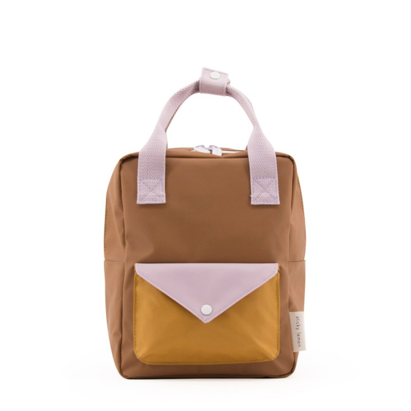 Rucsac MINI Envelope Sticky Lemon - Caramel