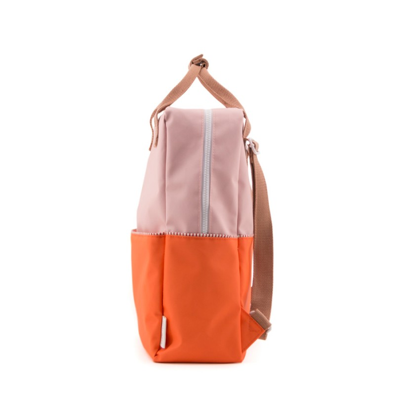 Rucsac Colour Block L Sticky Lemon - Oranj/Roz