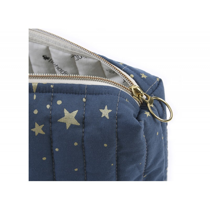Portfard NOBODINOZ - Gold Stella/Night Blue