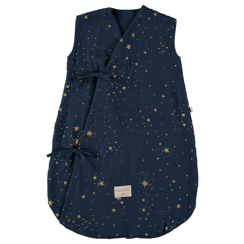 Sac de dormit Dreamy 0-6 luni NOBODINOZ - Gold Stella/Night Blue